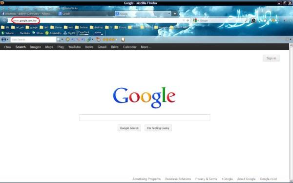 Cara Cepat Setting Google.co.id Ke Google.com Pada Browser ...