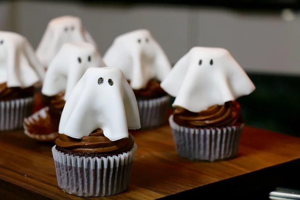 cupcakes au chocolat super moelleux pour halloween
