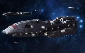 sci fi en politiek in Battlestar galactica