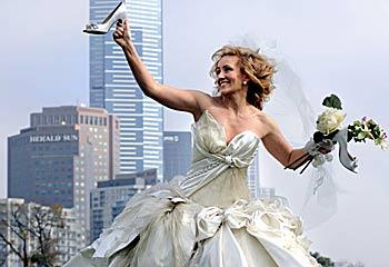 Sex and the city wedding dress designers