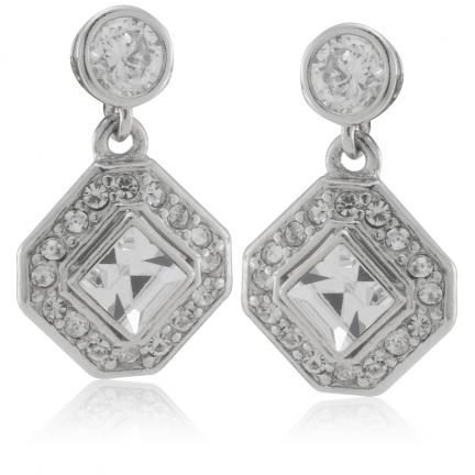 Coeur de Crystal Earrings