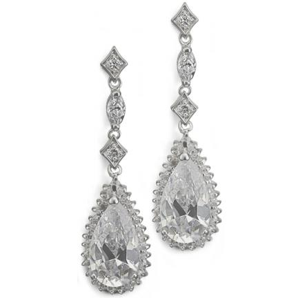 Leticia Cubic Zironia Earrings