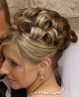 Bridal Updo Style #2