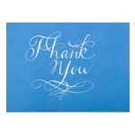 Thank you Card Calligraphy