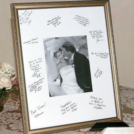 Framed Guest Book HerWeddingShop