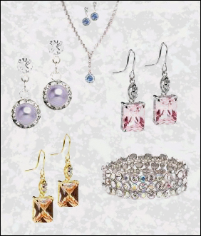 jewelry, colored gem jewelry, wedding colored jewelry, HerWeddingShop.com, www.herweddingplanner.com