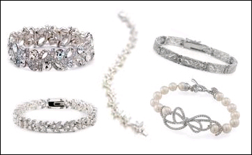 wedding jewelry, wedding bracelets, jewelry, HerWeddingPlanner.com, HerWeddingShop.com