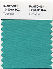 Pantone Color Turquoise