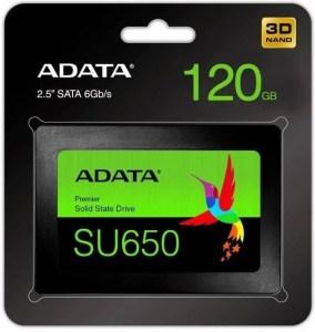 Perbandingan Memilih SSD 120GB Murah dan Bagus Adata SU650 120GB 5