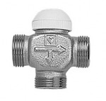 №1 Трехходовый термостатический клапан ГЕРЦ CALIS-TS
