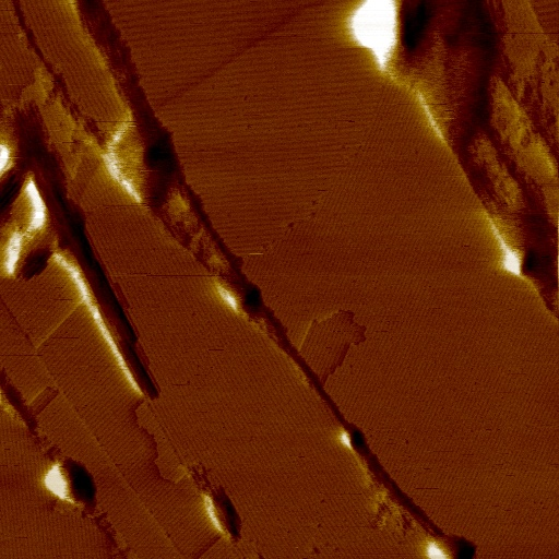 AFM Image With Active Vibration Isolation