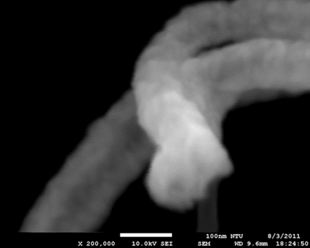 SEM Image - With EMI Cancellation