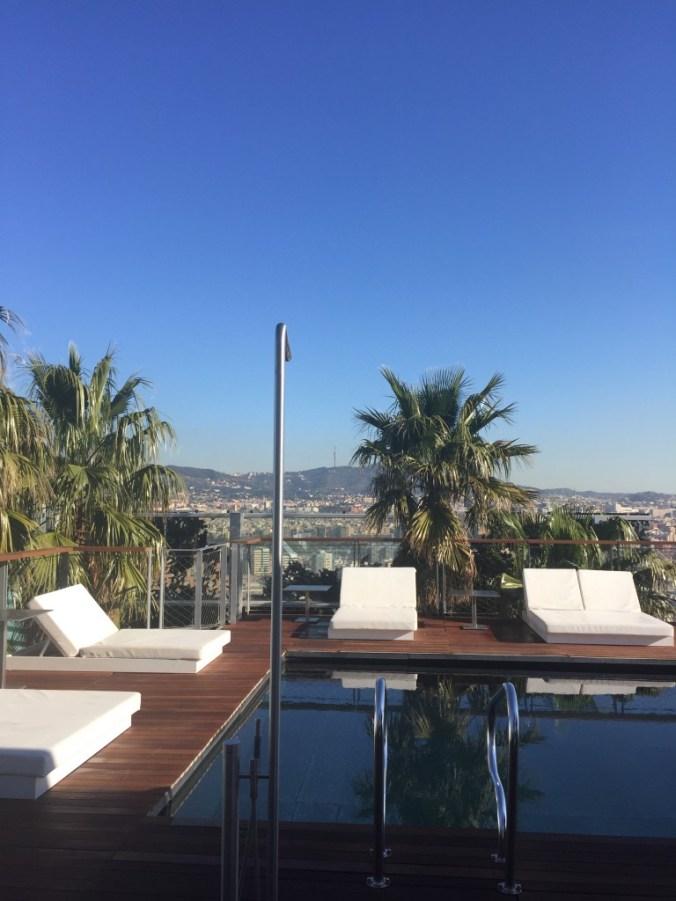 Hotel Pool Barcelona 2015 Johanna Voll