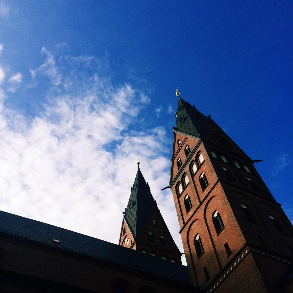 Himmel über dem Mariendom