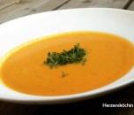 Moehren-Kokos-Suppe
