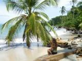 Beach at Cahuita National Park by hesaidorshesaid