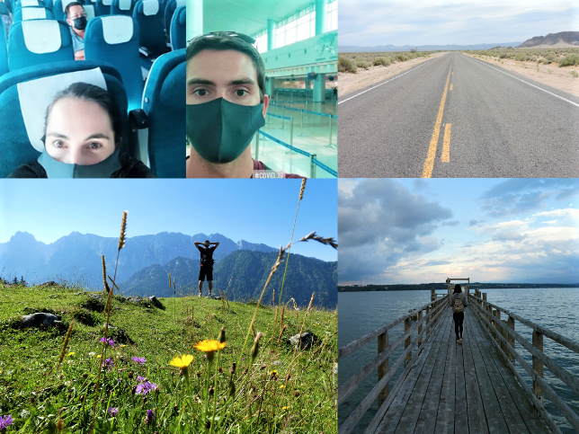 Travel During Pandemic Collage