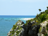 Tulum Cliffs and Beach