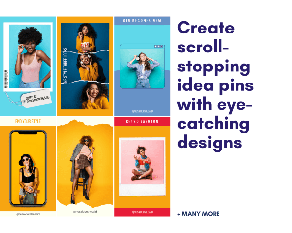 Scroll Stopping Fashion Blogger Idea Pins