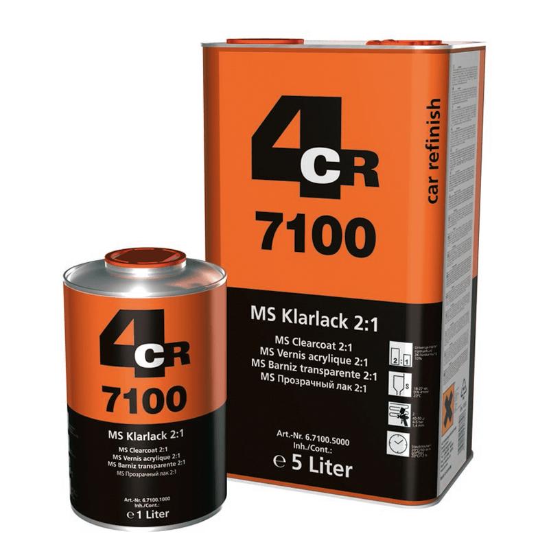 4CR 2K-MS klarlack