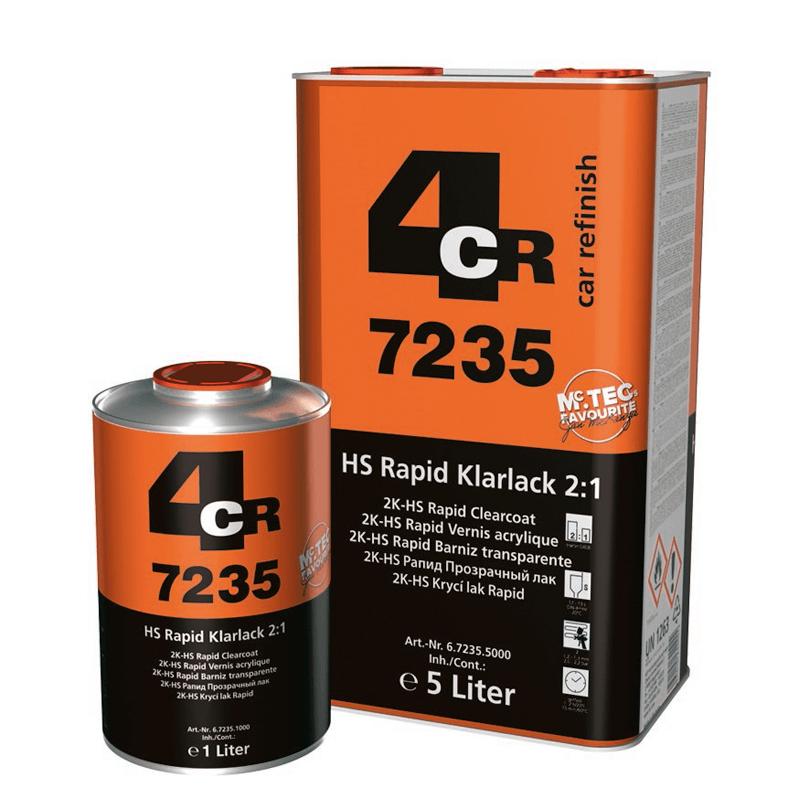 4CR 2K-HS Klarlack Rapid