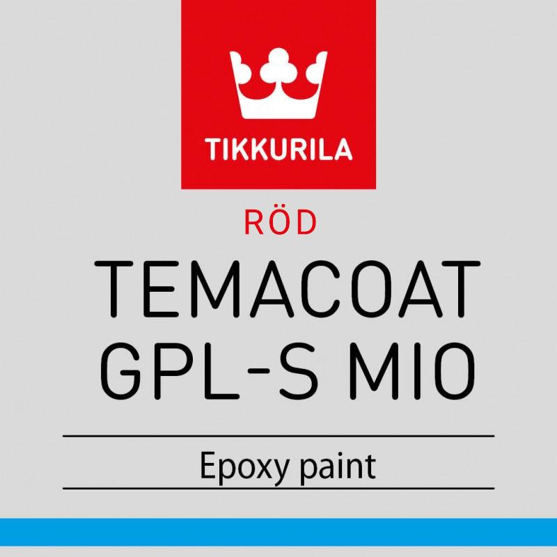 Temacoat GPL-S MIO Röd 20L