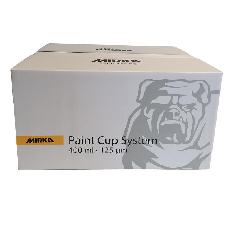 Mirka Paint Cup System 400ml 125µm