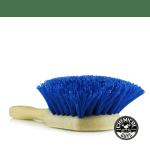 Blue stiffy brush