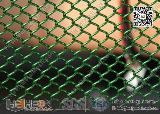 aluminum metal chain link mesh curtain