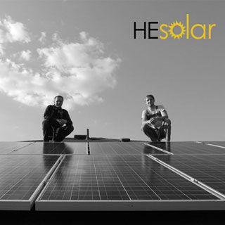 Picture of HE Solar LLC owners Eric and Derrick Hoffman