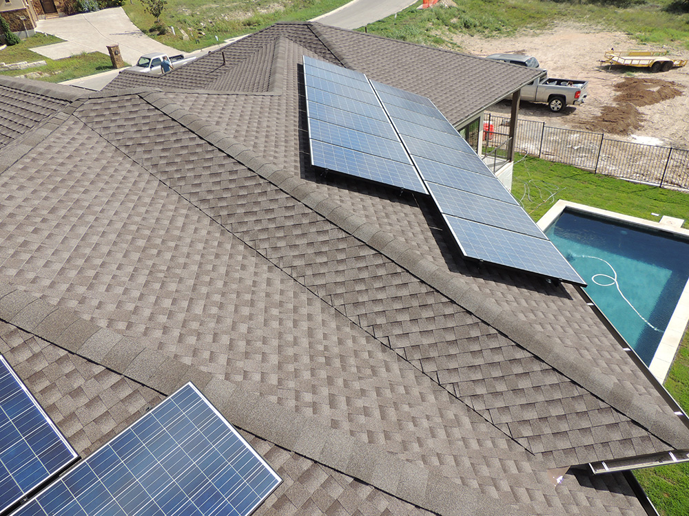 Roof Mounted Solar Panels For Home In Austin Tx Hesolar