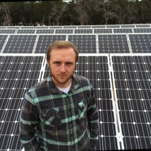 Owner of HEsolar, Eric Hoffman