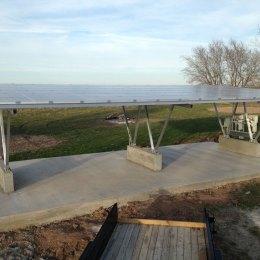 Solar Carports And Custom Solar Structures In Austin Hesolar