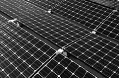 dual tilt solar panels on a roof