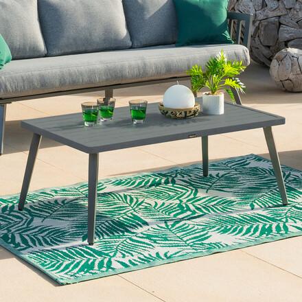 table basse de jardin rectangulaire paradize graphite hesperide com