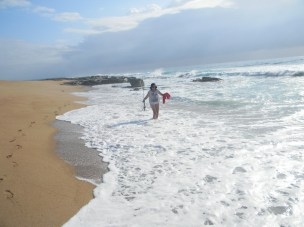 Elysiuym Beach I have the beach to myself