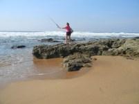 Fishing at Ifafa Beach