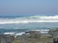Waves breaking on Ifafa beach