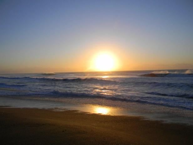 Sunrise at Sandspit, Port Shepstone, Kwazulu-Natal