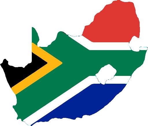 Flag of the rainbow nation