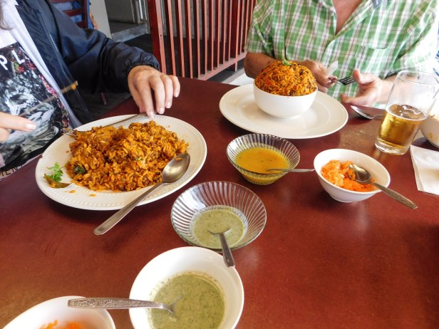 Chicken and mutton breyani