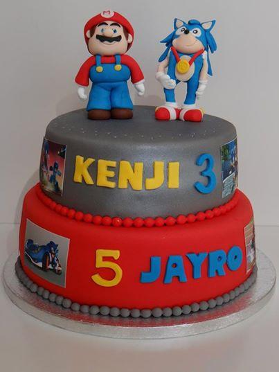 Foto: gedecoreerde taart