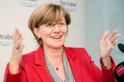 BELGIUM BRUSSELS ELECTRABEL PRESS CONFERENCE