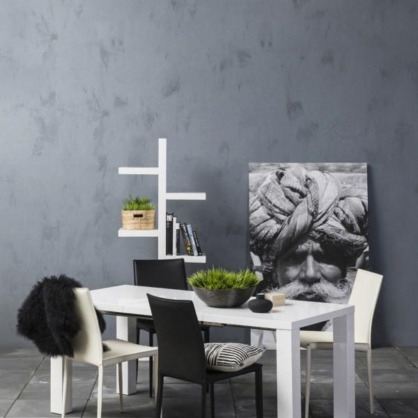 Hoogglans witte tafel model Glossy