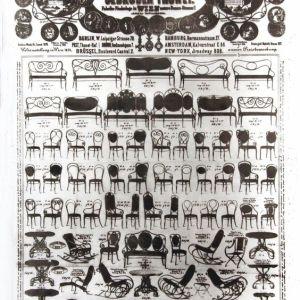 Originele Thonet poster