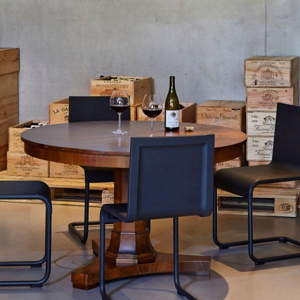 Vitra 05 zweefstoel design Maarten van Severen