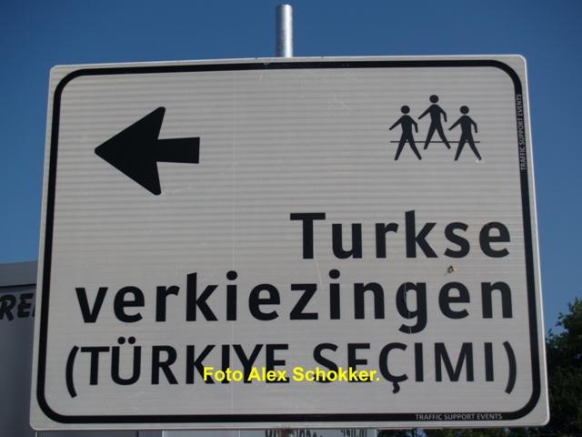 Turkse verkiezingen: pas op met parkeren bij de scheg
