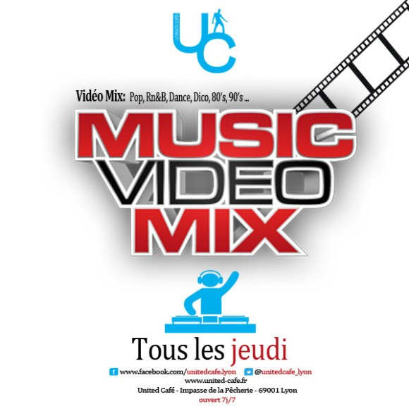 music video mix jeudi united cafe uc lyon clubbing gay