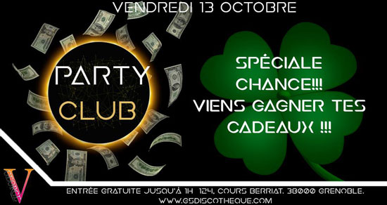 partyclub-george5-pt-lucky1 vendredi 13 octobre george v