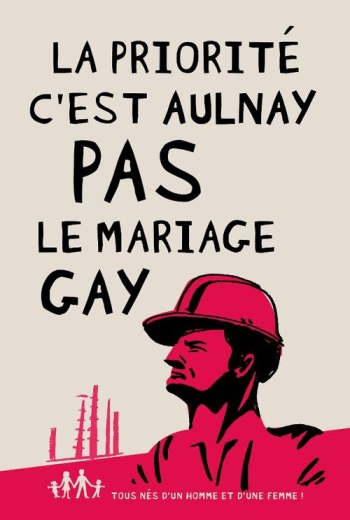 la priorite c'est aulnay pas le mariage gay manif pour tous ouvriers
